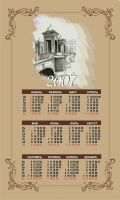 Дизайн календарей-плакатов